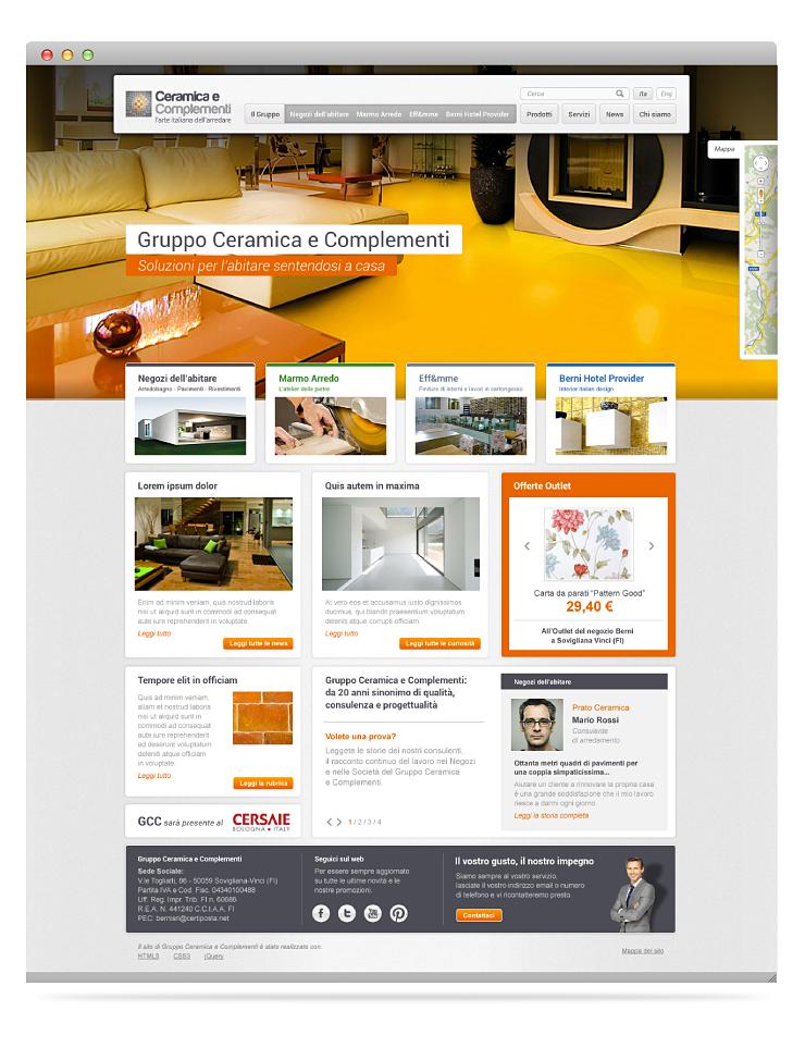 Gruppo Ceramica E Complementi.Andrea Molla Graphic Design